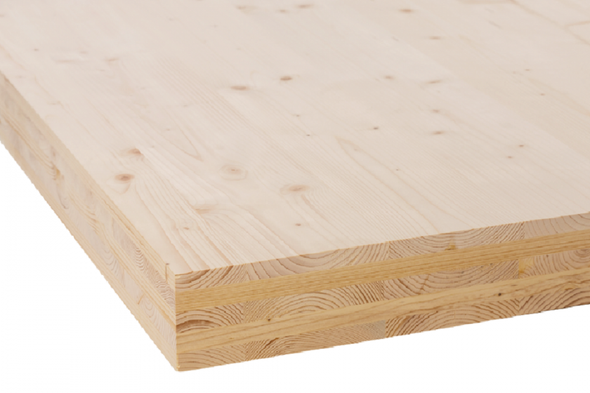 Brettsperrholz Hasslacher CROSS Laminatet Timber