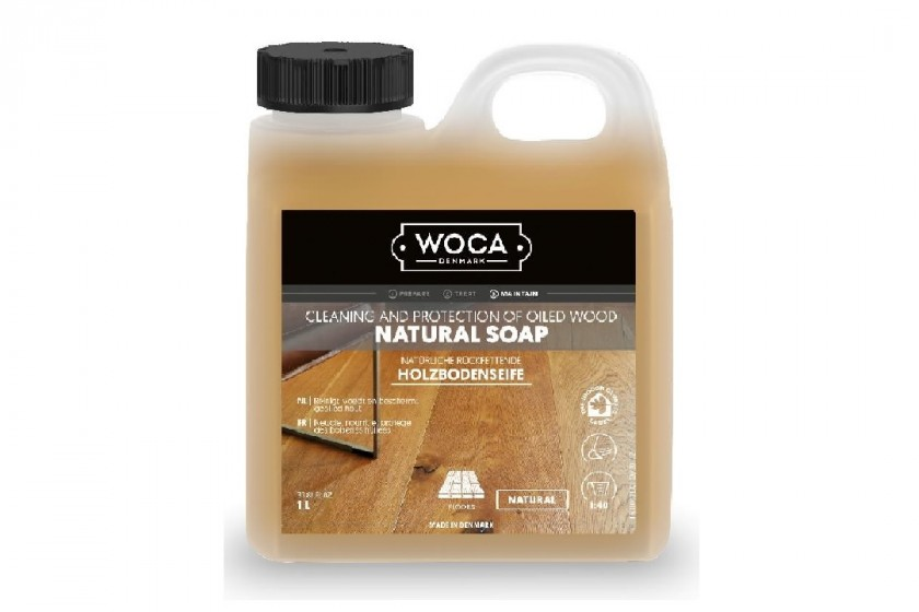 Woca Holzbodenseife Natur 1,0l