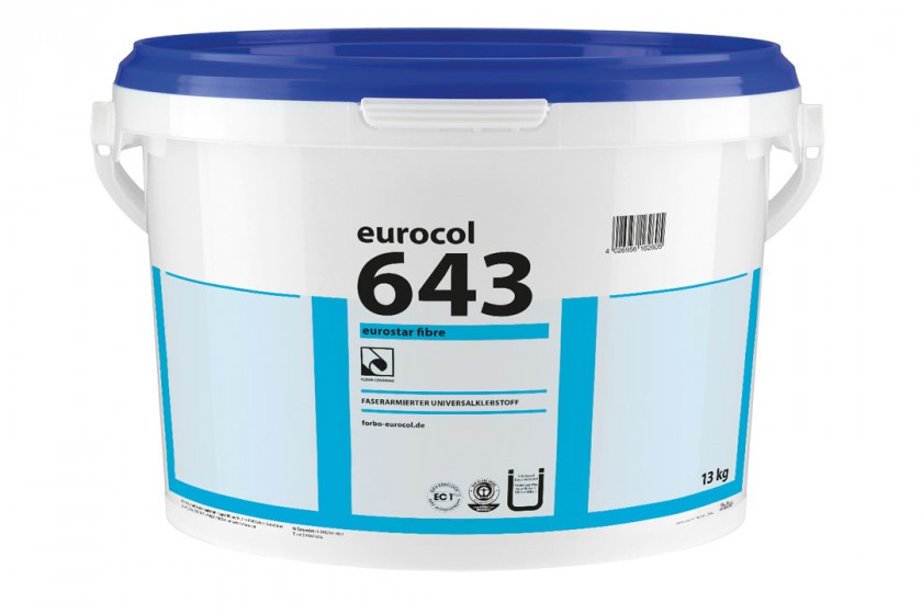 Eurocol Designbelagklebstoff Eurostar Fibre 643