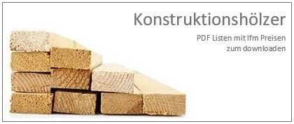 Konstruktionshölzer Preisliste PDF