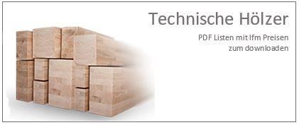 Technische Hölzer Preisliste PDF