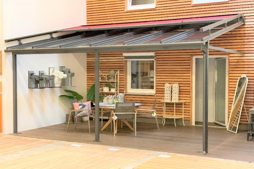 Terrassendach T100 inkl. Aufglasmarkise