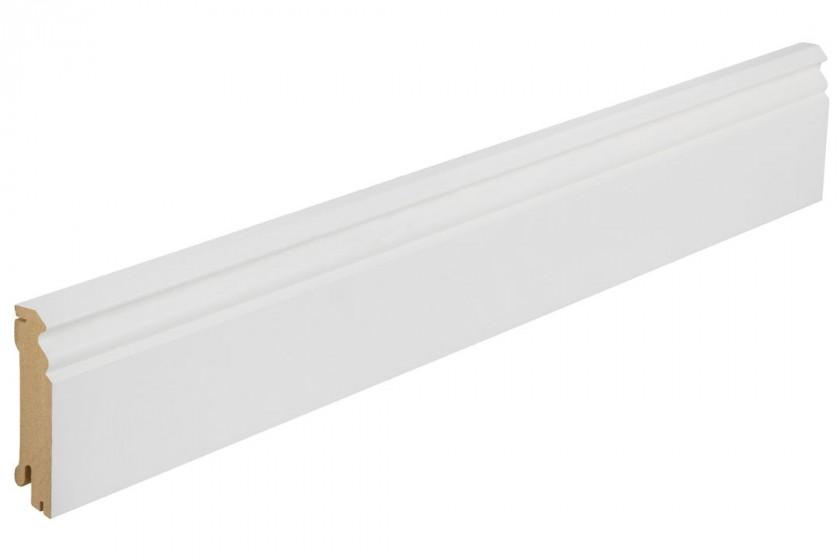 Hoco Sockelleiste SL 625 UMF profiliert Weiß deckend